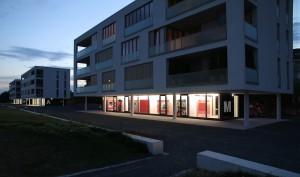 Die Ausstellungsräume der Markus Ambach Projekte in Düsseldorf