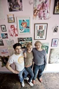 Sebastián Mejía, Sarah Müller und Ali Altin (v.l.n.r.) in ODG, Foto: Michael Willy