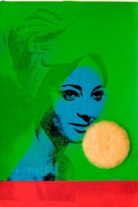"Martial Raysse: ""France Bleu"", 1963, Siebdruck, 30,4 x 20,4 cm, Stiftung Museum Kunstpalast, Düsseldorf, Stiftung Sammlung Kemp, ©Martial Raysse / VG Bild-Kunst, Bonn 2013, Foto Heinz Vontin"